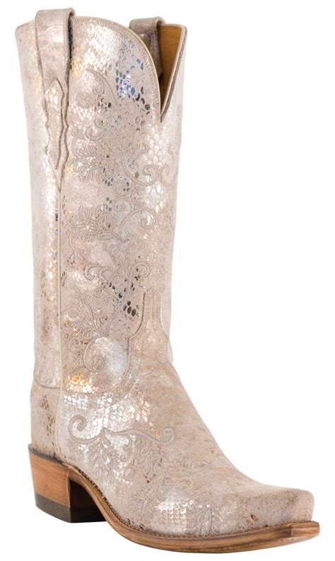 Wedding Boots by Lucchese 1883 Python Print N4715 Wedding