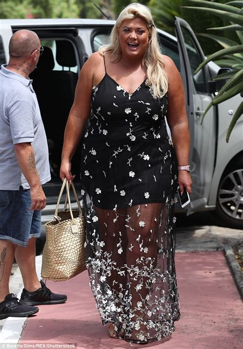 Maxy Dress Marbella Proo1 towie s gemma collins covers up in maxi dress in marbella daily mail