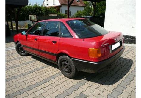 Audi 80 2 0e by Bildergalerie Audi 80 Limousine 1986 1991 Autoplenum De