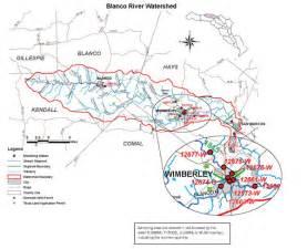 blanco river map white gold