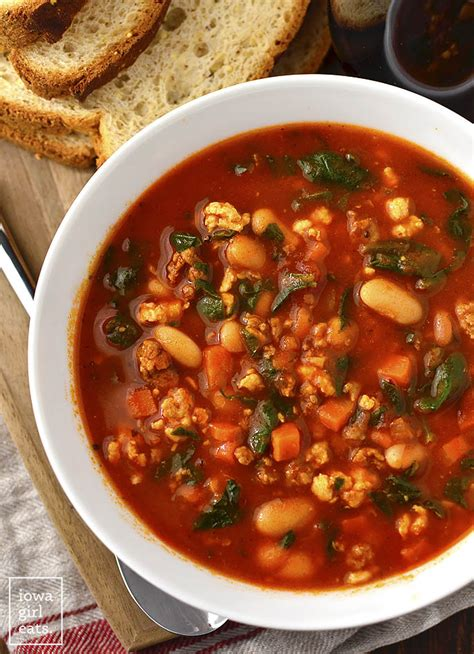 white bean and italian sausage soup