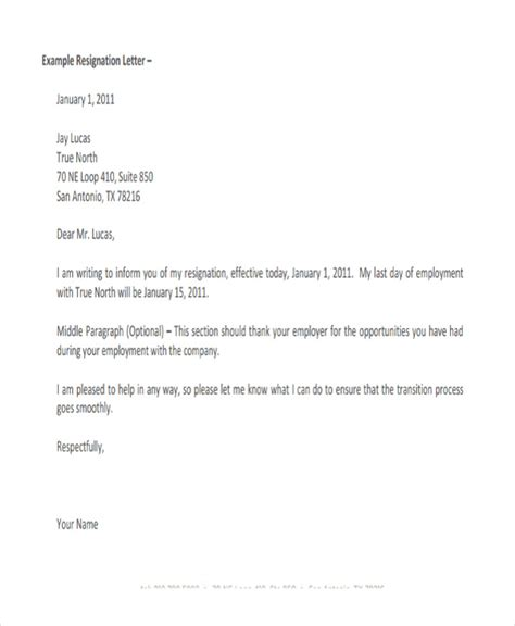 Resignation Letter Template Co Za 32 Resignation Letters In Pdf Free Premium Templates