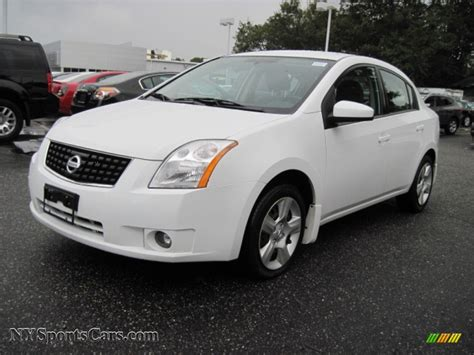 white nissan sentra 2008 2008 nissan sentra 2 0 s in fresh powder white 721148