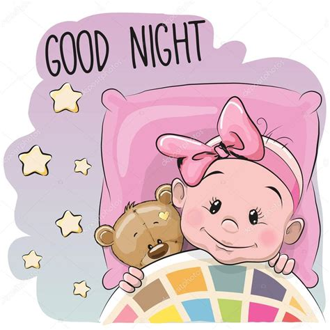 imagenes animadas good night cute dibujos animados ni 241 a durmiendo archivo im 225 genes