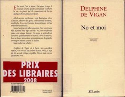 libro no et moi di delphine de vigan no et moi de delphine de vigan chez plouf