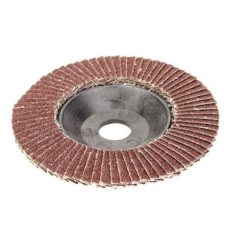 60 Grit Quick Change Sanding Flap Disc Grinding Wheel For