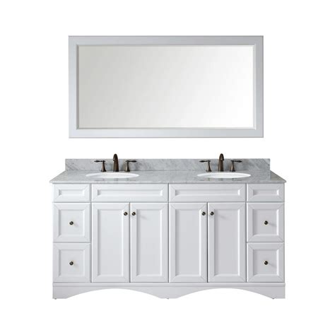 design elements vanity home depot design element marcos 72 in w x 22 in d vanity in