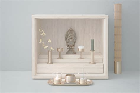 modern buddhist altar design beautifully minimal buddhist micro altars are designed for
