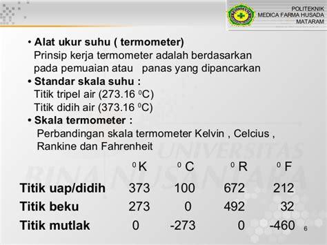 Termometer Skala 100 fd suhu dan kalor