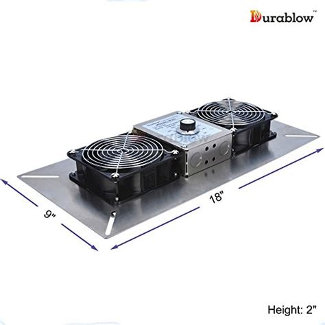 crawl space fan with humidistat durablow stainless steel crawl space foundation dual fans
