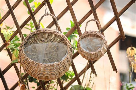 Wall Mounted Garden Baskets Popular Fiber Hanging Baskets Buy Cheap Fiber Hanging