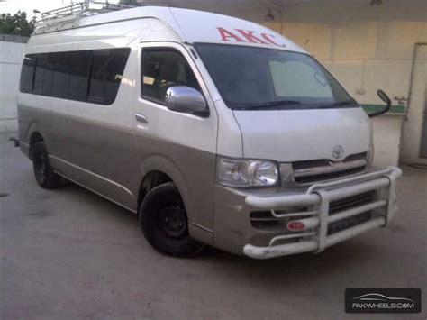 2007 Toyota Hiace For Sale Used Toyota Hiace Grand Cabin 2007 Car For Sale In Karachi