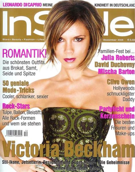 On Cover Of In Style by Instyle Magazine Fashiondesain