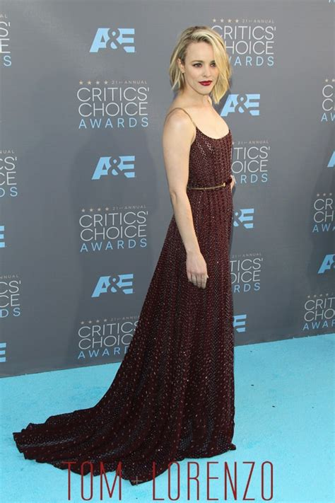 Well Played Hudson Couture In The City Fashion by Mcadams In Elie Saab Couture At The Critics Choice