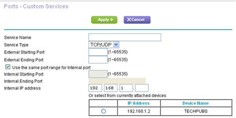 netgear forwarding image gallery netgear ports
