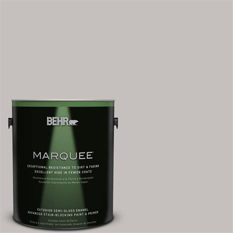 behr paint color nature behr marquee 1 gal ppu18 10 gray semi gloss