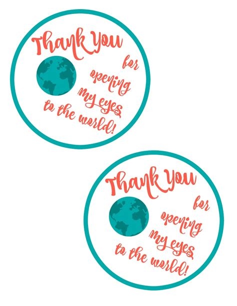 printable teacher s day gift tags free printable gift tag for diy map magnets teacher