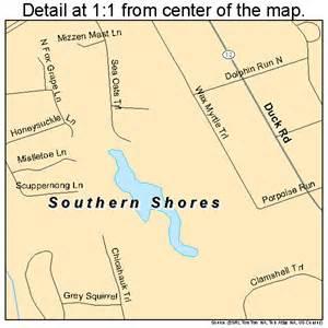 carolina shore map southern shores carolina map 3763130