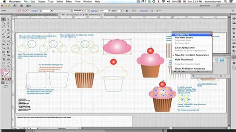 adobe illustrator cs6 google drive lesson 8 draw a cupcake in illustrator cs6 youtube