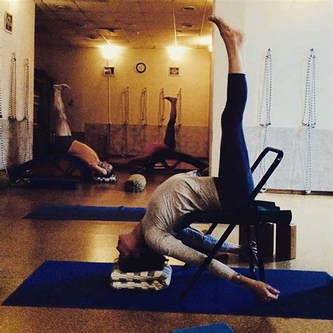 backbending bench 53 best iyengar yoga chair inversions images on pinterest