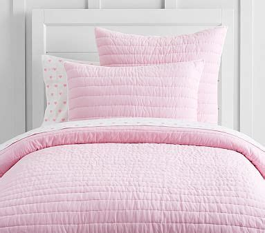 light pink comforter twin light pink bedding pottery barn kids