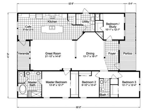 casitas floor plans casita tl42604a manufactured home floor plan or modular