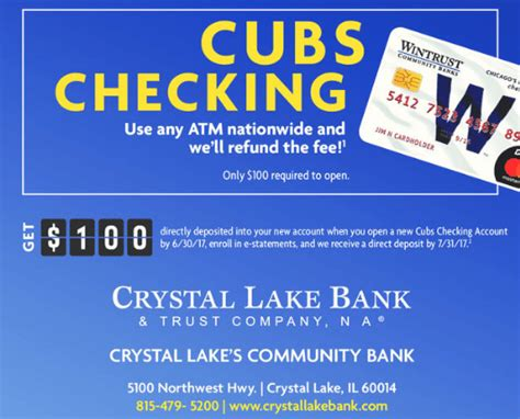 il only lake bank 100 checking bonus doctor