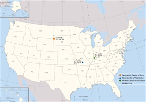 Of United States Geographic Center Of The United States