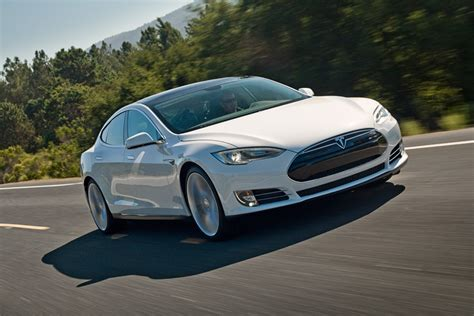 Tesla S Range Tesla S Model S Ev Could Top 350 From A Charge