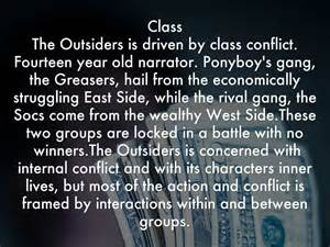 themes about outsiders the outsiders by danishnoor12