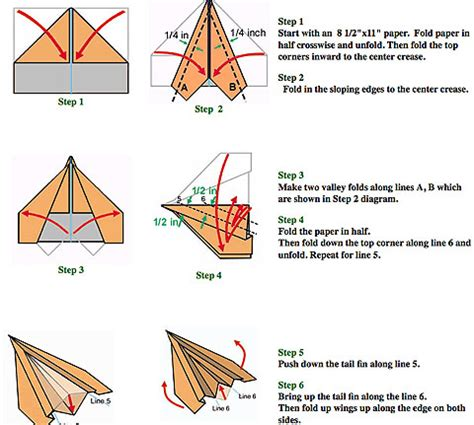 How To Make A Paper Aeroplane Step By Step - november 2011 collier