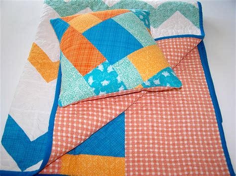 Chevron Patchwork - chevron patchwork baby quilt playmat car rug cushion