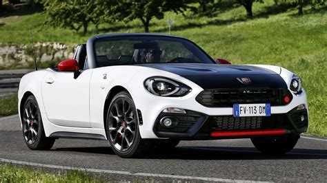 Abarth Car Wallpaper Hd by Abarth 124 Spider 2016 Wallpapers And Hd Images Car Pixel