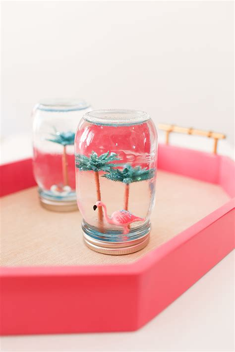 we are so making these diy summer quot snow quot globes this week