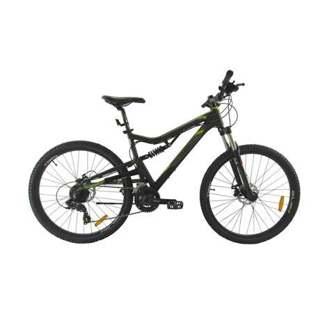 Sepeda Mtb Thrill 27 5 jual thrill sepeda mtb 27 5 inch oust 1 0 af hitam