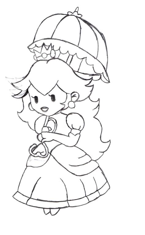 coloring page princess peach free princess peach coloring pages for kids
