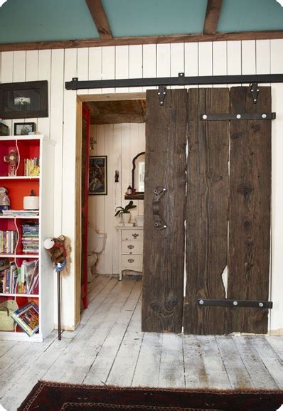 Home Barn Doors Modern Barn Doors An Easy Solution To Awkward Entries Deeplysouthernhome