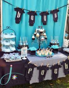 Theme For Baby Shower Boy by 35 Boy Baby Shower Decorations That Are Worth Trying