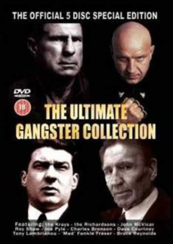 gangster ultimate film collection ultimate gangster collection dvd edizione regno unito
