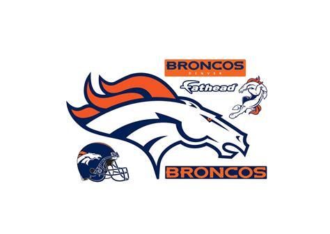 denver broncos logo sport logonoid com small denver broncos logo teammate decal shop fathead