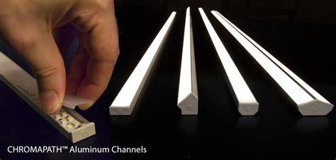 led light channel chromapath channels for custom led fixtures diode led