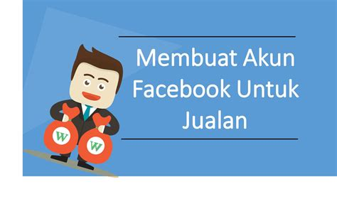 Membuat Facebook Jualan | cara membuat akun facebook untuk jualan