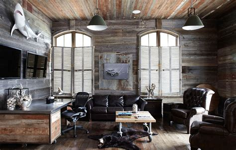 manly decor masculine man cave decor inspiration found on hello