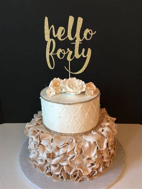 40th Birthday Cakes by Best 25 Birthday Cakes Ideas On Birthday Cake