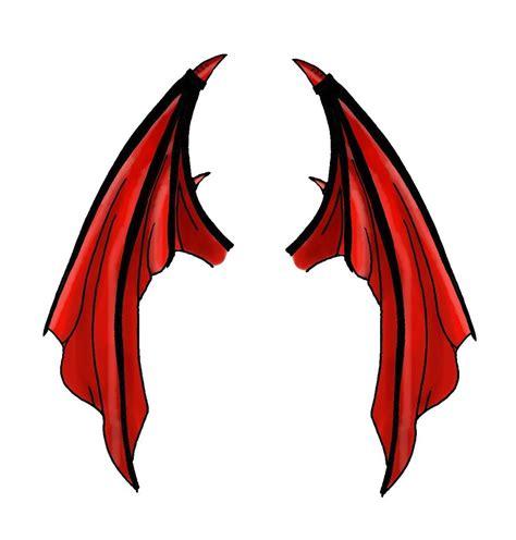 devil wing by seiyastock on deviantart