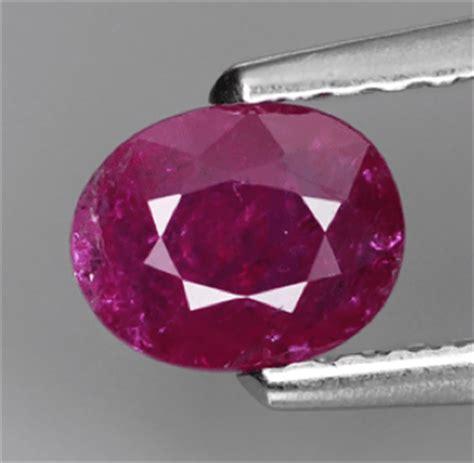 0 56 ct untreated ruby gemstone