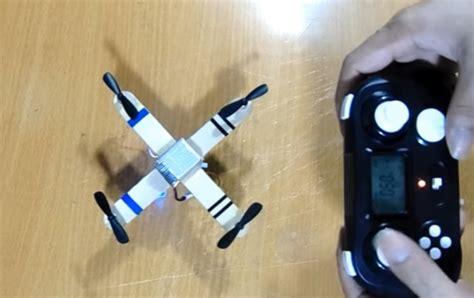 cara membuat nano quadcopter cara membuat kapal drone cara membuat drone sederhana dan