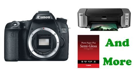 canon deals deal canon 70d pro 100 printer more for 789 at