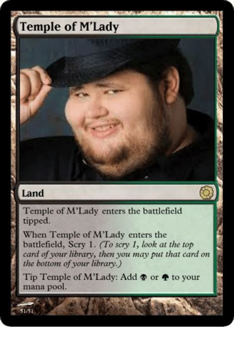 M Lady Meme - temple of m lady land temple of m lady enters the