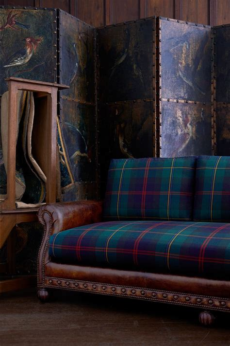 plaid sofa and loveseat 223 best leather plaid images on pinterest